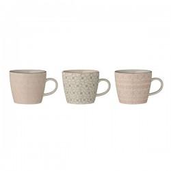 bloomingville tasse mug cécile (x3 )