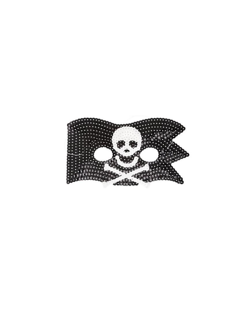 Rice - Masque Enfant Sequins - Pirate
