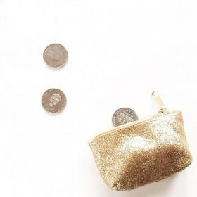 Numero 74 - Mini Porte-monnaie pailletée