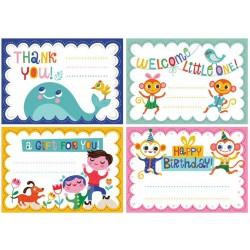 Pack de 24 Petites Cartes Helen Dardik