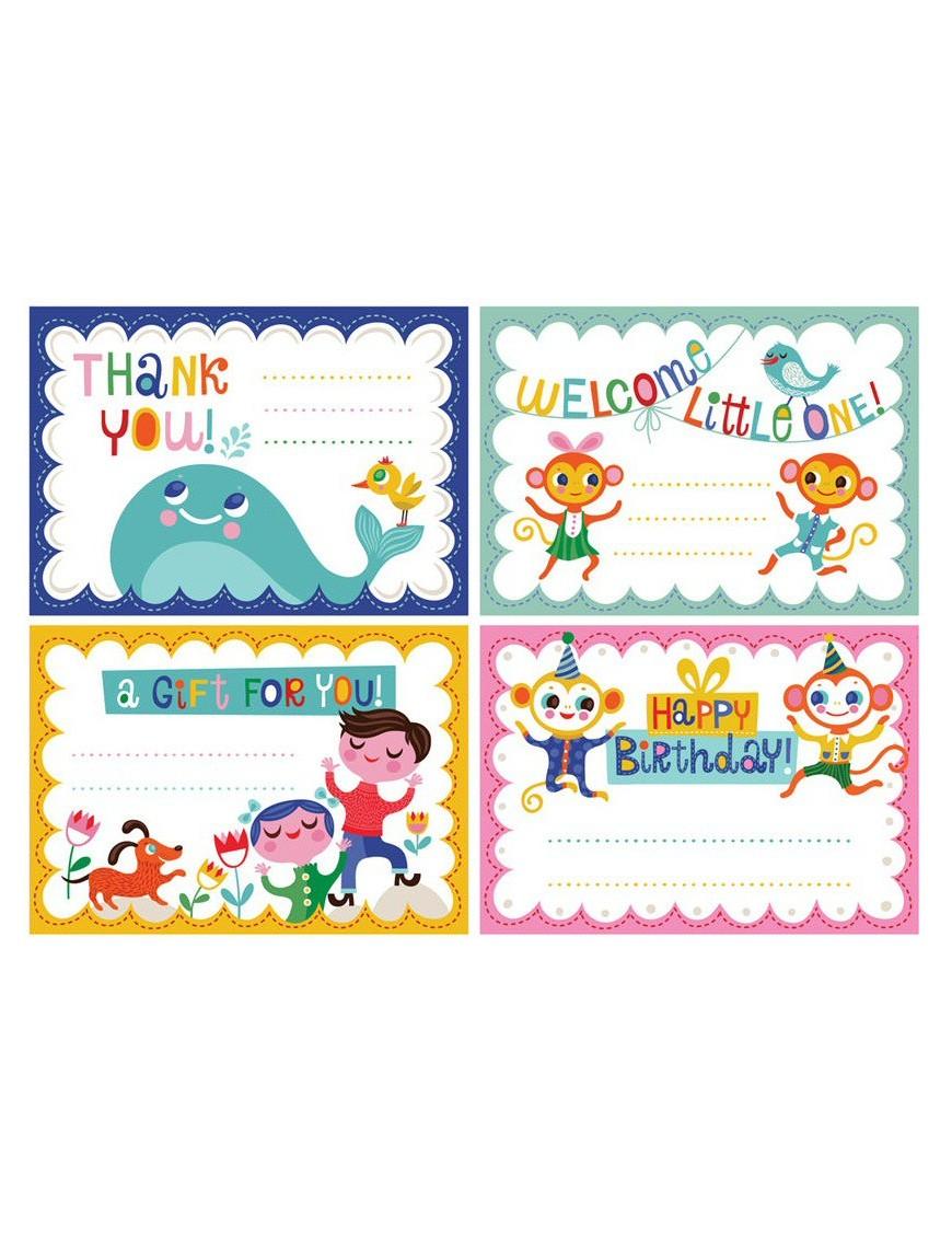 Pack de 12 Petites Cartes Helen Dardik
