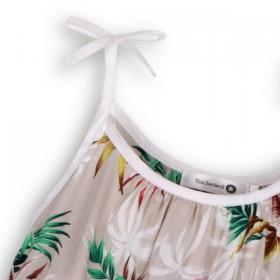 palm leaf print top by Troizenfants
