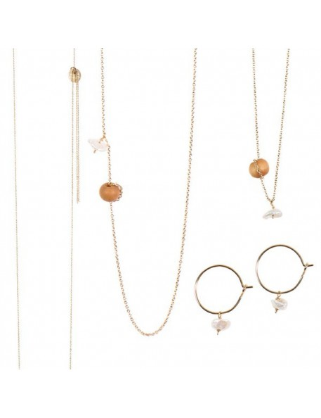 Earrings, Bracelet or Necklace - Mississipi jewlery series by Tassia Canellis