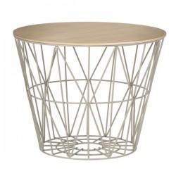 FERM LIVING | couvercle bois: wire basket