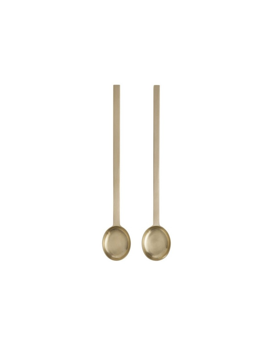 Brass Spoon (set of 2) by Ferm Living