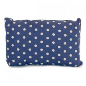Blue Jack Cushion with Dots Print (35x24cm) by NOBODINOZ