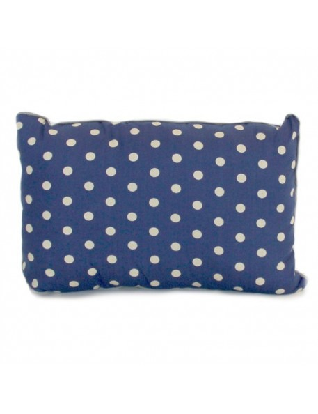 Blue Jack Cushion with Dots Print (35x24cm) by NOBODINOZ