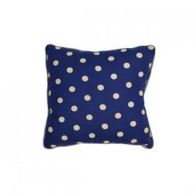 Blue Joe Mini Cushion with Dots Print by NOBODINOZ