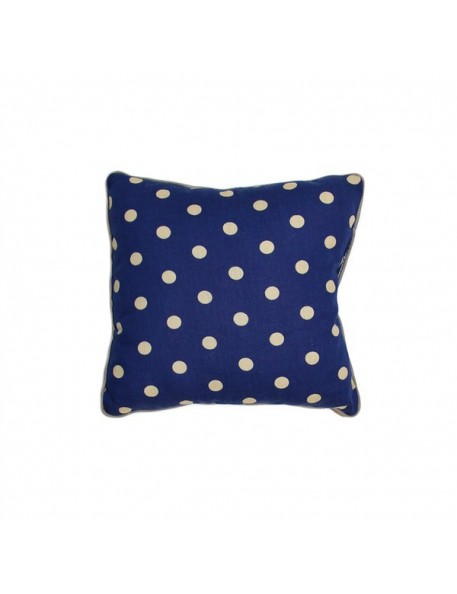 Blue Joe Mini Cushion with Dots Print by NOBODINOZ