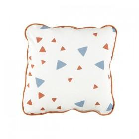 Joe Mini Cushion with Pink & Honey Sparks Print by NOBODINOZ