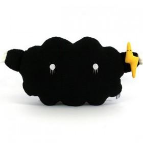 noodoll coussin enfant nuage noir medium