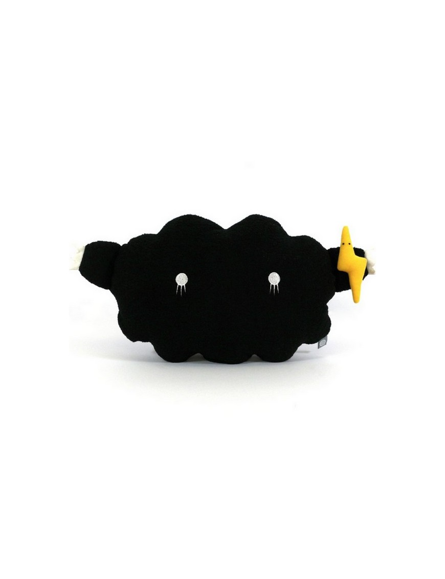 noodoll medium cushion black cloud