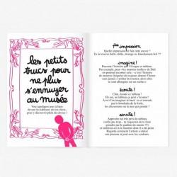 """Small Activity Book """"J'aurai voulu être un artiste"""" Minus"""