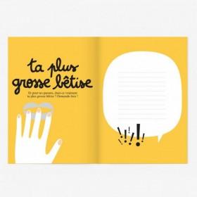 "Small Activity Book ""oh les Bêtises"" Minus"