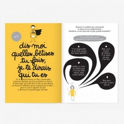 "Small Activity Book ""oh les Bêtises"" Minus"