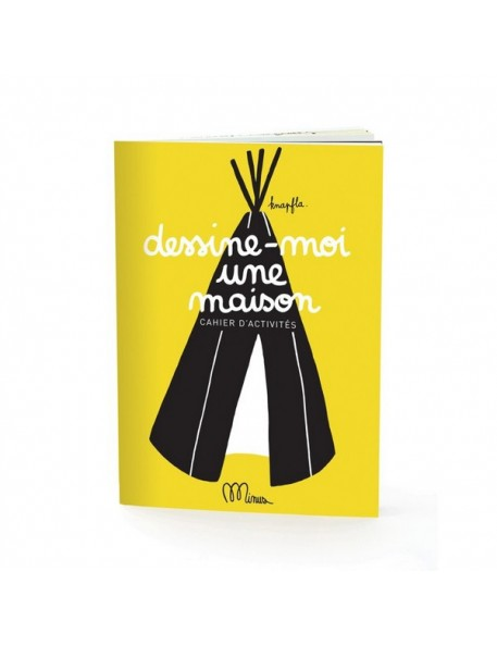 "Small Activity Book ""Dessine-moi une Maison"" Minus"