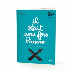 "Small Activity Book ""il était une fois Picasso"" Minus"