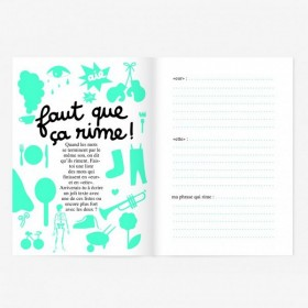 "Small Activity Book ""Vive la Poésie!"" Minus"