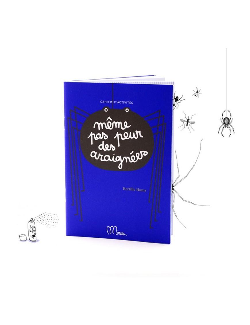 """Small Activity Book """"même pas peur des araignées !"""" Minus"""