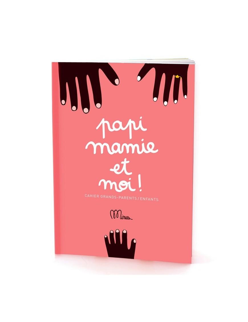 "Activity Book ""Papi, Mamie et Moi"" by Minus"