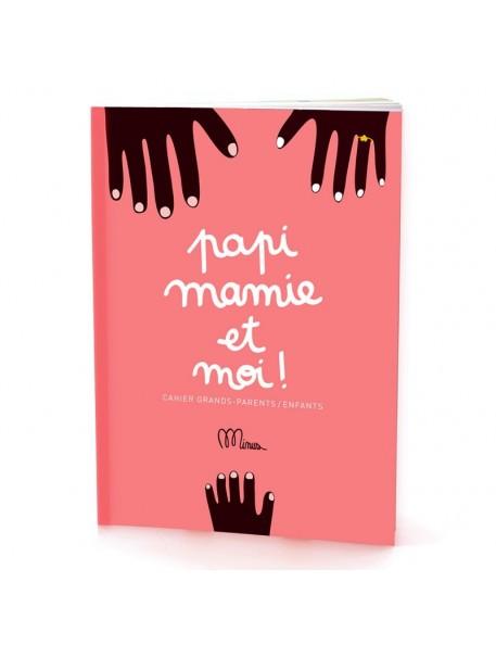 """cahier d'activités """"papi, mamie et moi"""" minus éditions"""