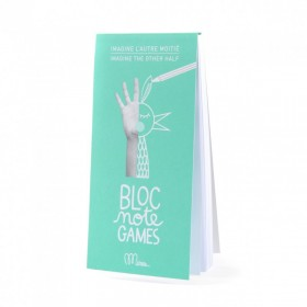 """Bloc Note Games """"Imagine the other half"""" by Minus"""