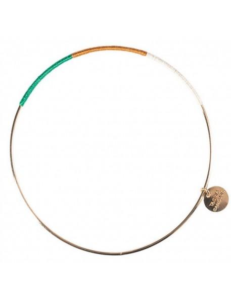 Yassa Bangle Bracelet by Tassia Canellis
