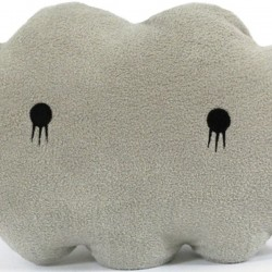 Giant Grey Cloud Cushion by NOODOLL