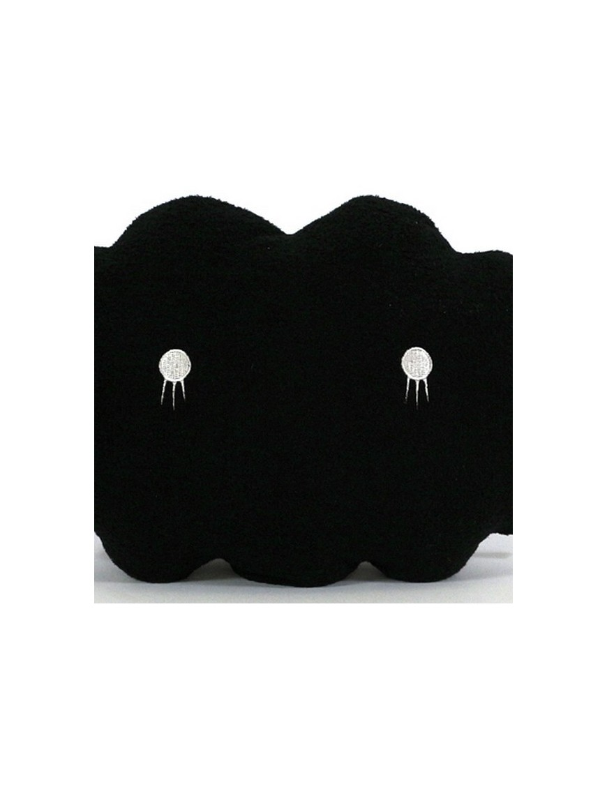 Giant Black Cloud Cushion by NOODOLL