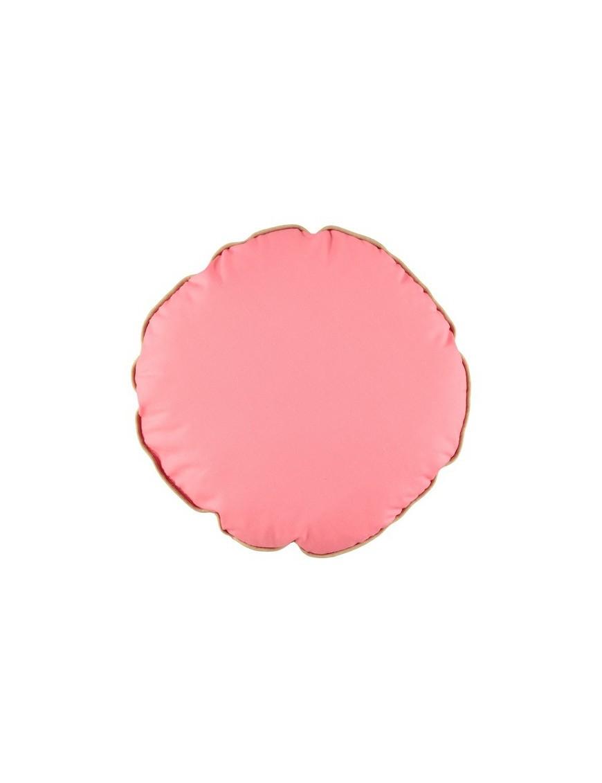 Nobodinoz Pink Round Cushion - Small