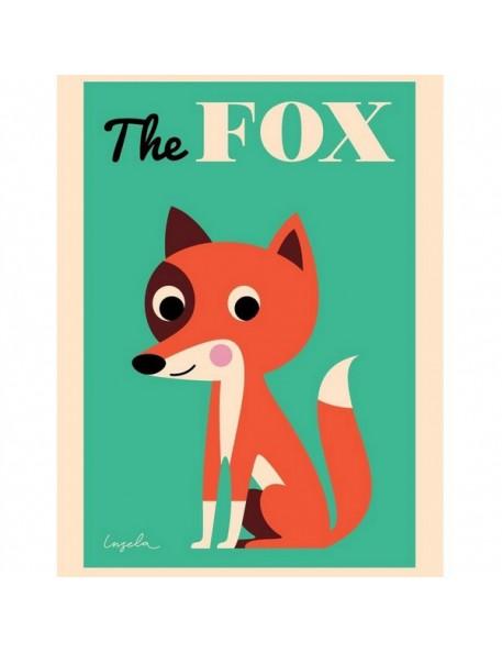 ingela p arrhenius affiche renard the fox