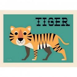 ingela p. arrhenius affiche tiger