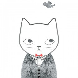 Affiche Grid & Fur Audrey Jeanne