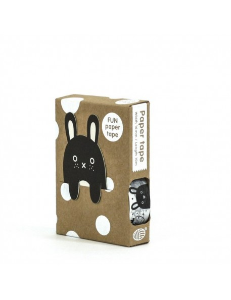 Black and white masking paper tape by Noodoll