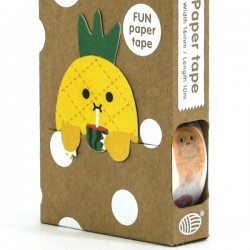 Noodoll Fruit 5 a day masking paper tape