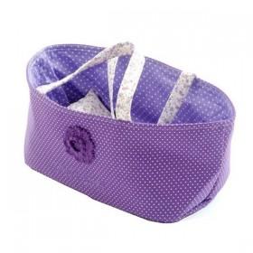 Purple doll Basket