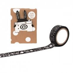 Noodoll White Rabbit masking paper tape