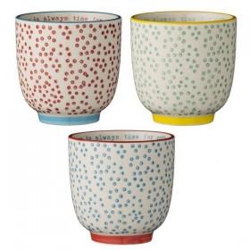 bloomingville cup laura (set of 3)