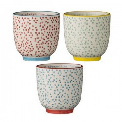 bloomingville cup laura (set of 3)