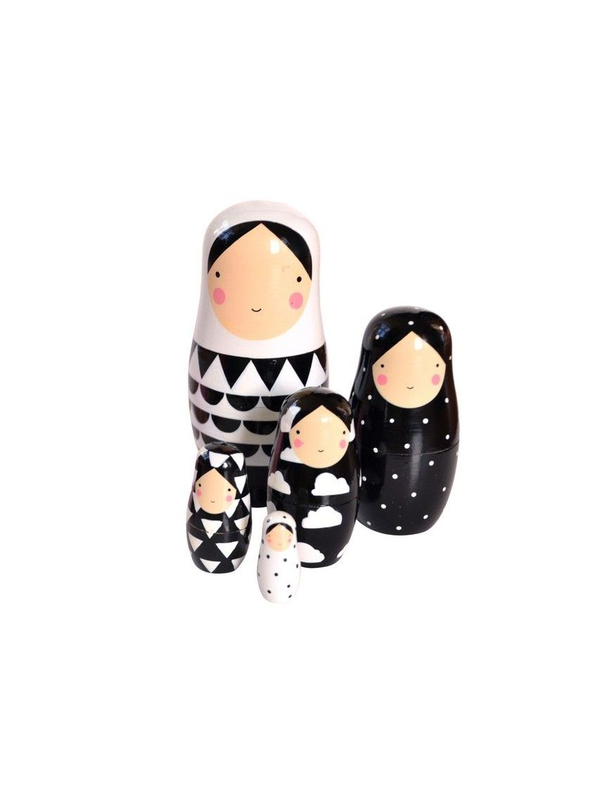 Animals 1 Nesting Dolls by Ingela P Arrhenius