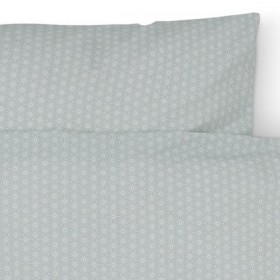 Baby Bed Linen Shashiko Mint by CamCam