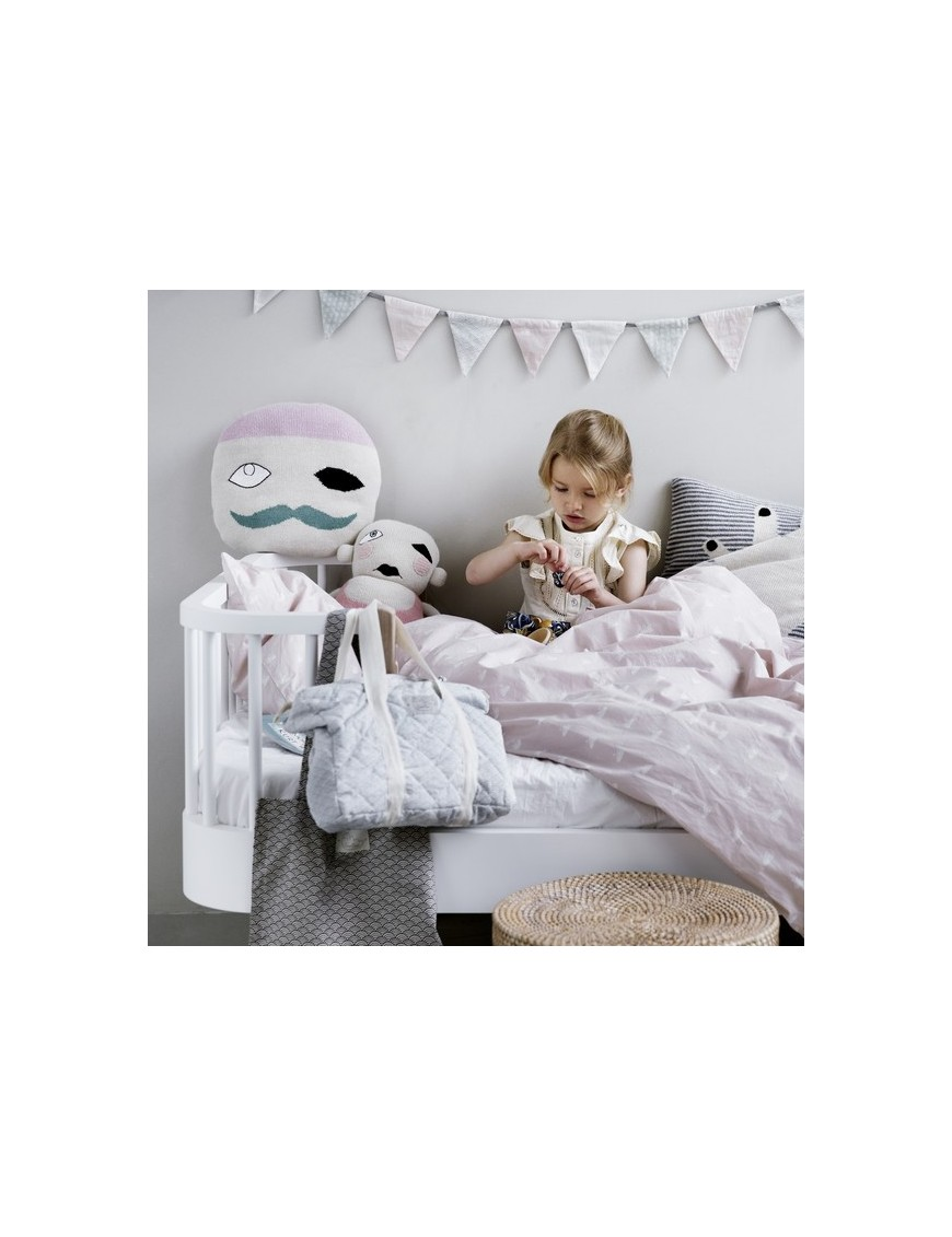 Grey Waves Junior Bed Linen by CamCam