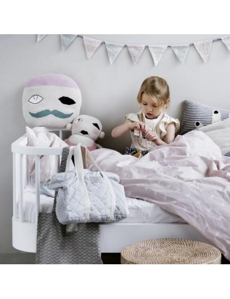 Cam Cam - swan baby bed linen
