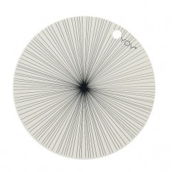 "Oyoy   placemats : off-white ""circle"" (2pcs)"