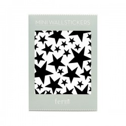 Stickers Mini Stars - Noir - FERM LIVING