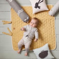 """Couverture bébé bio : """"stick"""" FERM Living"""