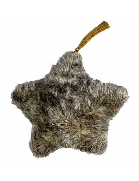 Numero 74 - Beige Star Cushion Fur - 2 sizes