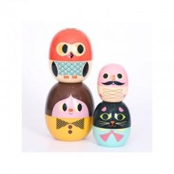 Babyoshka Family Nesting Doll by Ingela P Arrhenius