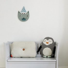 décoration murale en céramique buster cat oyoy