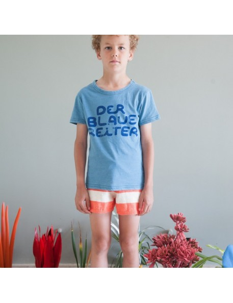 4/5A - Bobo choses short rayé rouge